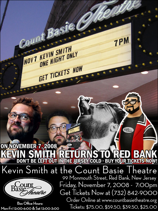 kevin smith his movies and the shop jay and silent bobs secret stash in the town red bank Kevin smith owns a bookstore called jay and silent bob's secret stash located in red bank, new jersey he bought the store in 1997 using the money he got from his first movie as a filmmaker smith opened a second secret stash store in westwood section of los angeles in 2004.
